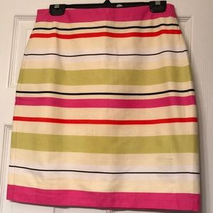 Banana Republic pencil skirt multicoloured